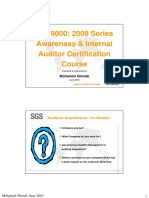 A - 9001 Auditor Course Updated June 2010