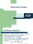 Lesson 26 Radiation Heat Transfer