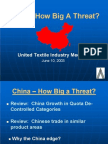 Microsoft Power Point ATMI Presentation on China Threat to United