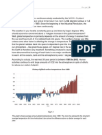 Formal Report - How Did Climate Change in Last 30 years