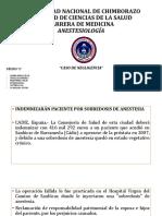 anestesio casos clinicos