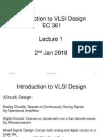 VLSI Design Lecture 1