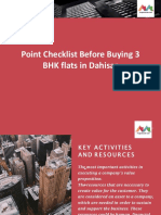Point Checklist Before Buying 3 BHK Flats in Dahisar