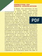 Committee on Subordinate Legislation