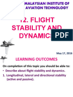 Flight Stability and Dynamics