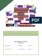 RPT Pendidikan Moral Tingkatan 3 2018