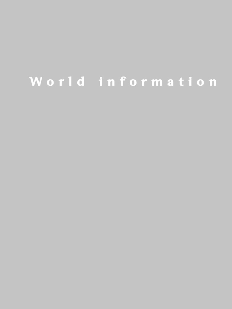 World information report 1997 1998 preservation library and world information report 1997 1998 preservation library and archival science information publicscrutiny Images
