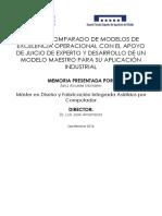 ALCAIDE - Estudio Comparado de Modelos de Excelencia Operacional Con El Apoyo de Juicio de Expert..