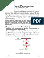 Bab XI Mengoperasikan Sistem Pengendali Elektro Mekanik