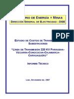 Informe Costo Linea Vizcarra-Carhuaquero v03 DGE