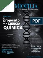 Revista QuimioFilia-El Proposito de La Ciencia Química-Tomo 1-Noviembre 2017