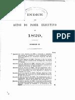 Colleccao Leis 1829