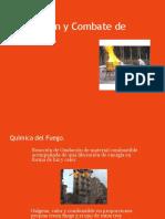 Prevenciòn y Combate de Incendios Presentación MANUAL
