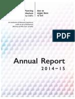 SPA Annual Report 2014-15