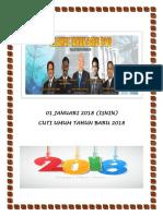 01 Januari 2018 Label Cuti