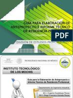 Guía Para Informe Técnico