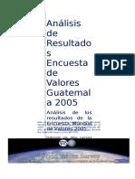 El Estudio Mundial de Valores Gt TMP