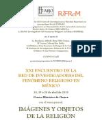 Convocatoria Ponencias Xxi Encuentro Rifrem Oaxaca