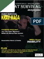 Combat Survival Magazine Vol 1