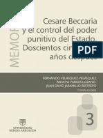 Agudelo-Voltaire Beccaria y Los Inicios