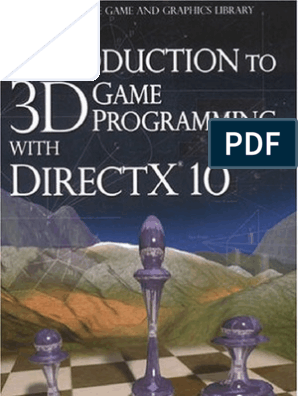 Wordware introduction to 3D game Programming with DirectX 10