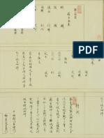 Muhen Mugoku Ryu Sojutsu Shomokuroku Menjo - 1796