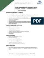 Guía de Trabajo Para La Elaboración de Un Proyecto de Gestión