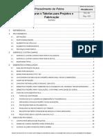 Regras e Tabelas para Projetos e Fabricação.doc