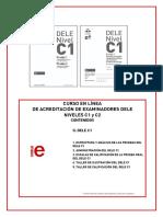 C1 C2 en Línea Contenidos II DELE C1 2016