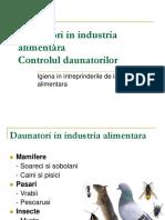 11 Daunatori in Industria Alimentara
