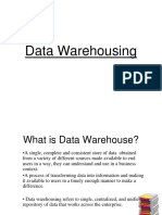 Data Warehousing & Mining