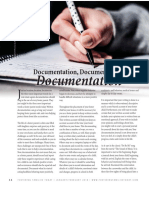 Documentation as a Foster Parent