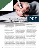 Documentation as a Foster Parent