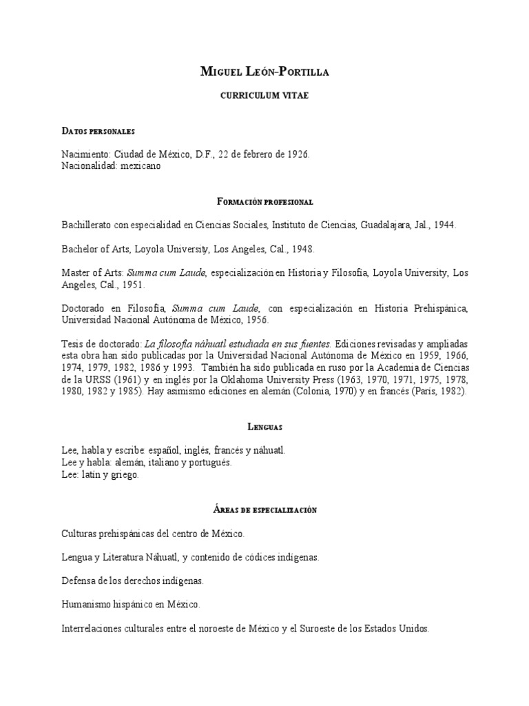 Curriculum Vitae-Miguel León Portilla.pdf
