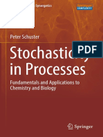 Schuster P. - Stochasticity in Processes. Fundamentals and Applications to Chemistry and Biology - (Springer Series in Synergetics) - 2016