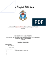 IT Project Documentation Template