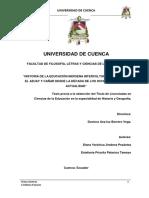 Tesis Historia de La Educacion Bilingue en Ecuador 70 Hasta Actualidad