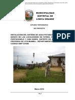 Informe Topografico Fatima San Isidro (1)