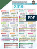 Calendario Academico UNEFA 2018