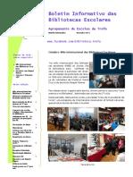 Boletim Informativo das BE do Agrupamento de Escolas da Trofa - 1º Periodo  2017-18