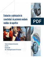 2) Evaluacion y Optimización de Conectividad de Yacimientos.