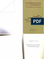Instruction of the Student - The Method of Learning_Imam Al-Zarnuji