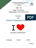 Cours Chimie Organique FS Ben M'Sik 2012-2013