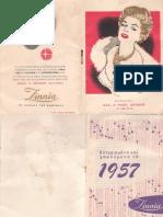Δαλδάς-Ζίννια  ατζέντα 1957