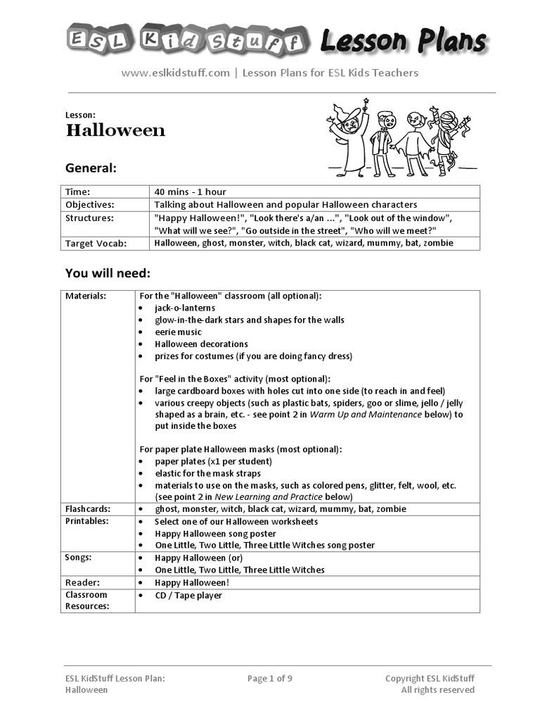 halloween-lesson-plan.pdf | halloween | lesson plan