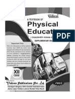 Physical Education class 12 Supplementary