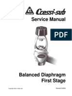 Balanced Diaphragm First Stage