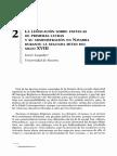 LASPALAS, Javier. Legislación Sobre Escuelas de Primeras Letras. Navarra. Siglo XVIII