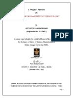 Bank - Credit Risk Management