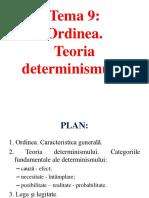 Teoria determinismului